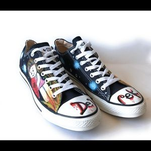 Converse All Star hand painted Sneakers 11